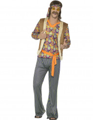 Kostüm Hippie-Sänger 60er Jahre Herren