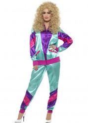 80er Jahre Jogging-Kostüm für Damen
