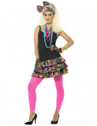 80er-Jahre Kostümzubehör für Damen bunt