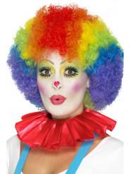 Kragen rot Clown für Erwachsene