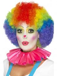 Clown-Kragen rosa Erwachsene