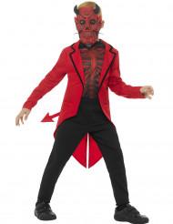 Halloween Dämon Gentleman Kostüm für Kinder