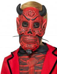 Maske dämonischer Herr Dia de los Muertos für Kinder