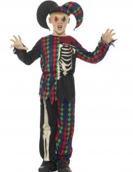 Halloween Harlekin Kinderkostüm