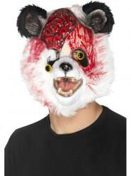 Maske Zombie-Panda Erwachsene Halloween