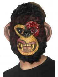 Maske Zombie-Affe Erwachsene Halloween