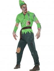 Trollkostüm für Erwachsene grün