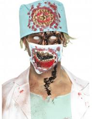 Set Zombie-Chirurg für Erwachsene Halloween