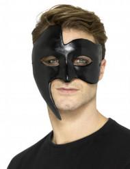 Maske schwarze Gothic Geister Erwachsene
