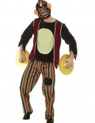 Affenkostüm für Erwachsene mit Spielsachen