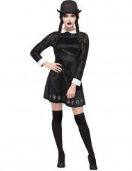 Gothic Schulmädchen Kostüm für Damen