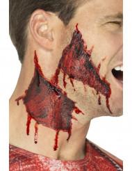 Halloween Tattoo abgerissene Haut für Erwachsene