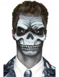 Prothese Schädel Erwachsene Halloween