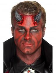 Latex prothetischen Hörner des schwarzen Teufel Erwachsene Halloween