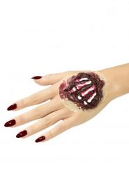 Latex prothetische Knochen der Hand Erwachsene Halloween