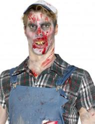 Falsche Zombie-Zähne Kostüm-Accessoire hautfarben-gelb