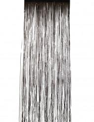 Schwarzer Vorhang mit Glitzer
