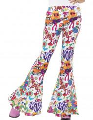 Hippie-Hose für Damen aus den 60er-Jahren