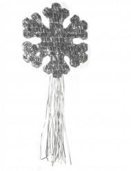 Pinata Schneeflocke silber 50 cm