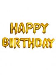 13 Aluminium-Ballon Alles Gute zum Geburtstag, 40 cm