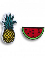 2 Pins Ananas und Wassermelone