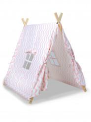 Kanadisches Zelt rosa für Kinder