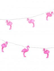 Beleuchtete Girlande mit Flamingos 2,10 Meter