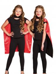 Wendeumhang für Kinder rot-schwarz Halloween