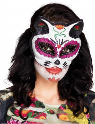 Katzenaugenmaske Tag der Toten
