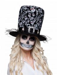 Zylinder mit Skelett Erwachsene Halloween