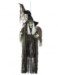 Hänge-Dekoration Hexe Halloween 190 cm