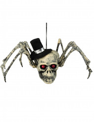 Dekoration Skelett-Spinne Halloween 23 x 30 cm
