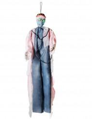 Hänge-Dekoration Chirurg blutig 190 cm Halloween