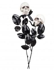Rosa Schädel 45 cm Halloween