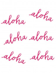6 Tischdekorationen Aloha 31,8g