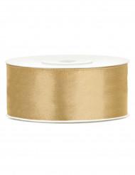 Dekoration Geschenkband gold 25m