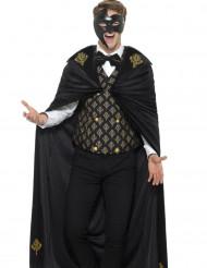 Barock-Kostüm schwarz und gold Herren