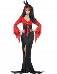Kostüm böse Fledermaus für Dame Halloween