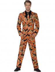 Kostüm Mr. scary Kürbis Herren Halloween