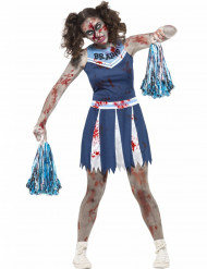 Kostüm Cheerleader Zombie Halloween für Teenager