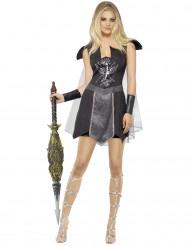 Kostüm düstere Gladiatorin Halloween