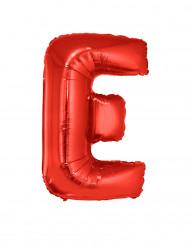 Folienballon rot Buchstabe E 102 cm