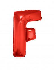 Folienballon rot Buchstabe F 102 cm