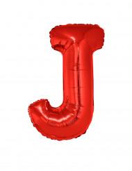 Folienballon rot Buchstabe J 102 cm
