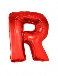 Folienballon rot Buchstabe R 102 cm