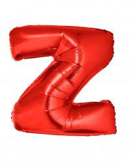 Folienballon rot Buchstabe Z 102 cm