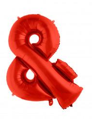 Rieser Folienballon rot Symbol &; 80 cm