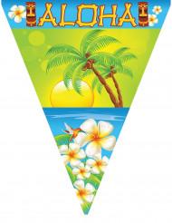 Hawaii-Girlande Partydeko Aloha bunt 5m
