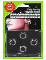 4-teiliges Piercing-Set für Erwachsene