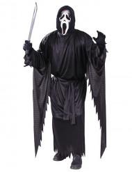 Scream Halloweenkostüm für Herren schwarz-weiss